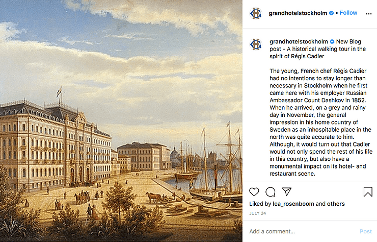 Grand Hotel in Stockholm