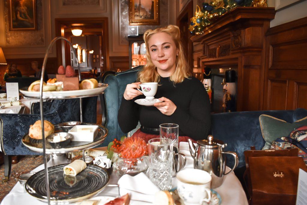 afternoon tea at the Bonham