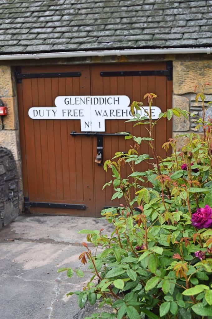 glenfiddich warehouse